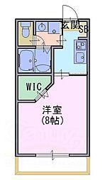 メゾン エム[2階]の間取り