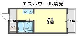 エスポワール清光[4階]の間取り