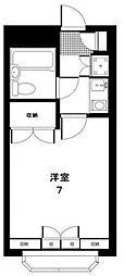 東京都世田谷区千歳台2丁目の賃貸マンションの間取り