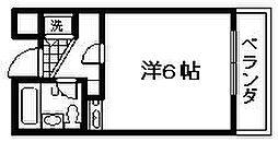 ベルトピア下松[206号室]の間取り