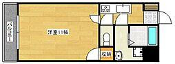 ハミルトンII[3階]の間取り