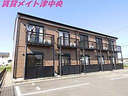 三重県津市住吉町の賃貸アパートの外観