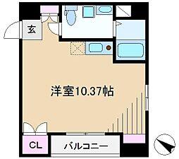 アヴァンツァーレ田端[8階]の間取り
