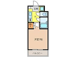 サンロード・スクエア・ショウワ[4階]の間取り