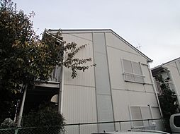 東京都目黒区下目黒3丁目の賃貸アパートの外観