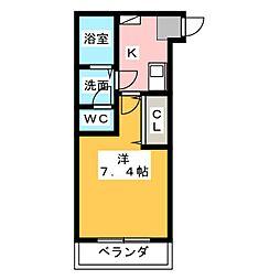 アタラクシア上浅田[2階]の間取り
