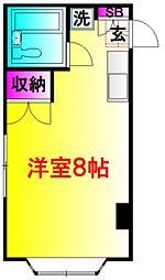 レジデンスラフォーレII[2階]の間取り