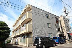 愛知県名古屋市中川区外新町3丁目の賃貸アパートの外観