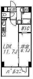 エスポアール蘆花公園[5階]の間取り