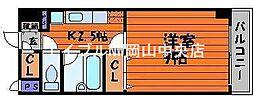 グランデール野田[6階]の間取り
