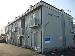 滋賀県東近江市沖野2丁目の賃貸アパートの外観