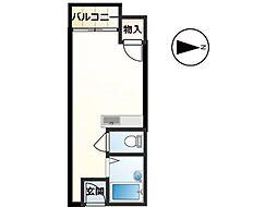 東京ビル6[1階]の間取り