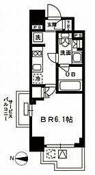 レジディア新宿イーストIII[201号室号室]の間取り