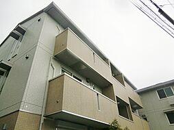 大阪府大阪市東住吉区桑津3丁目の賃貸アパートの外観