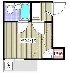 セドルハイム氷川台A棟[2階]の間取り