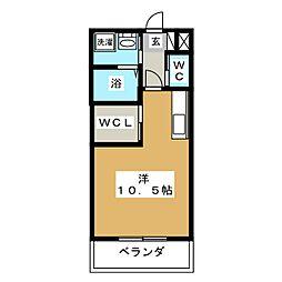 フラワーパーク[2階]の間取り