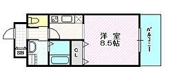 マリス京橋ARMS[5階]の間取り