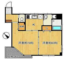 文京ツインタワー[2階]の間取り