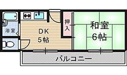 岩本マンション[4階]の間取り