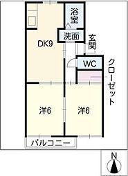 フォーラムハウス岩崎台[1階]の間取り