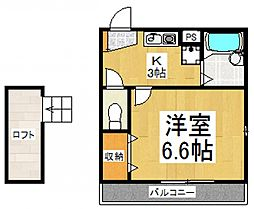 スプランディート[2階]の間取り