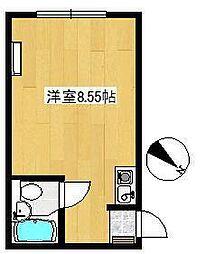 東京都北区浮間1丁目の賃貸マンションの間取り