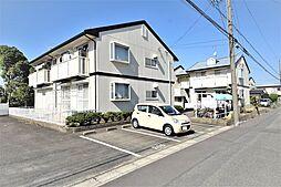 愛知県北名古屋市熊之庄の賃貸アパートの外観