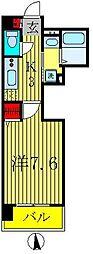 柏808タワー[2階]の間取り