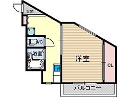 アンフィニ庄3[4階]の間取り