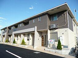 東京都武蔵村山市神明3丁目の賃貸アパートの外観