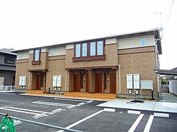 兵庫県加古川市平岡町山之上字奥垣内の賃貸アパートの外観