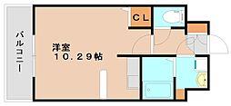 クレアーレ大野城[4階]の間取り