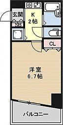 プレサンス京都駅前[803号室号室]の間取り