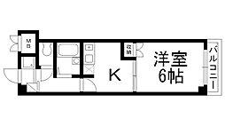 Fromホキタ1番館[0204号室]の間取り