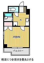 愛知県名古屋市千種区内山1丁目の賃貸マンションの間取り