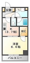 ハイムラポールPartXIII[2階]の間取り