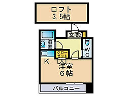 オーク高砂[8階]の間取り