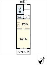 マンションエトワール[3階]の間取り