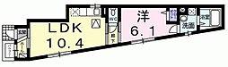 メゾン みのりI[1階]の間取り