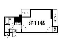 ふるーる北山[5階]の間取り