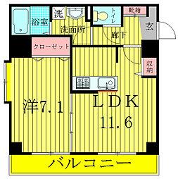 INSURANCE BLDG.6[5階]の間取り