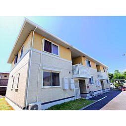 静岡県焼津市三ケ名の賃貸アパートの外観