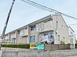 静岡県御殿場市二枚橋の賃貸アパートの外観