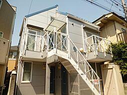東京都新宿区新宿6丁目の賃貸アパートの外観