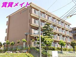 三重県四日市市萱生町の賃貸マンションの外観