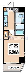 M'プラザ小阪駅前[6階]の間取り