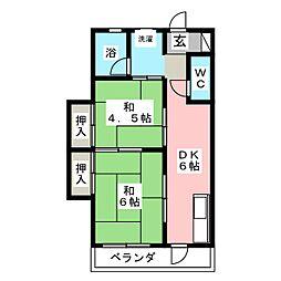 後藤ビル[2階]の間取り