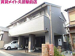 三重県津市修成町の賃貸アパートの外観