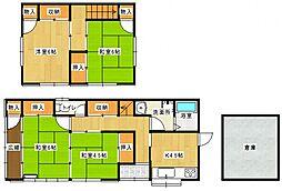 [一戸建] 東京都八王子市中野上町1丁目 の賃貸【/】の間取り