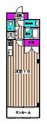 アメニティビルドイシハラ3[3階]の間取り